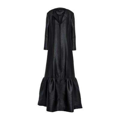 SAFIYAA ロングワンピース&ドレス スチールグレー 36 ポリエステル 100% ロングワンピース&ドレス