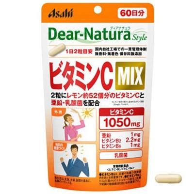 アサヒグループ食品 ディアナチュラ スタイル ビタミンC MIX 60日分 120粒入