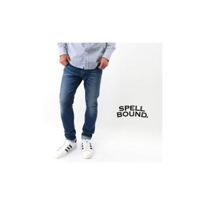 SPELL BOUND スペルバウンド メンズ 5P スキニーフィットデニム ブラストウォッシュ[43-655D](FW)