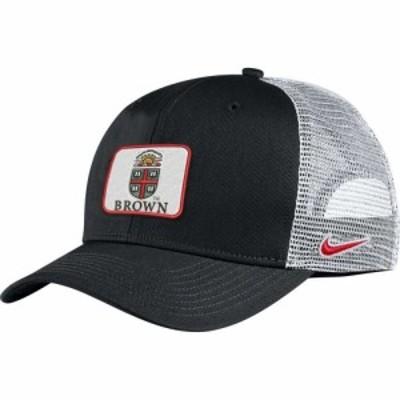 ナイキ Nike メンズ キャップ トラッカーハット 帽子 Brown University Bears Classic99 Trucker Black Hat