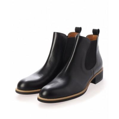 neue marche / サイドゴアショートブーツ/4356【日本製】大きいサイズ&小さいサイズ WOMEN シューズ > ブーツ