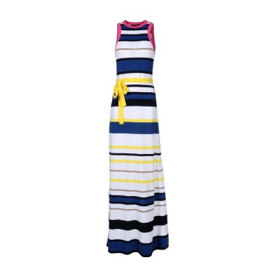 ディースクエアード DSQUARED2 ロングワンピース&ドレス ホワイト XS 100% コットン ロングワンピース&ドレス