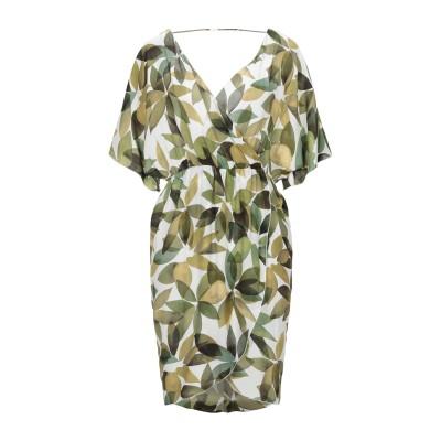 カルラ ジー CARLA G. ミニワンピース&ドレス ホワイト 40 レーヨン 100% ミニワンピース&ドレス