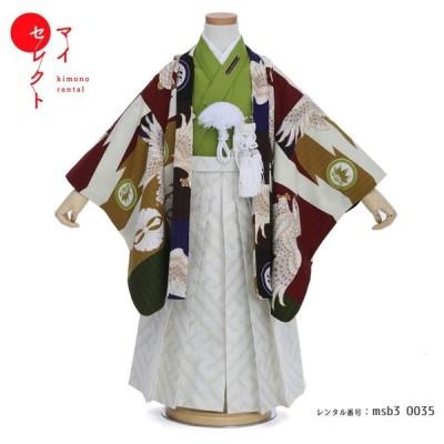 七五三 着物 3歳 男の子 レンタル JAPAN STYLE ブランド フルセット 男児  フォトブックプレゼント 753 msb3-0035