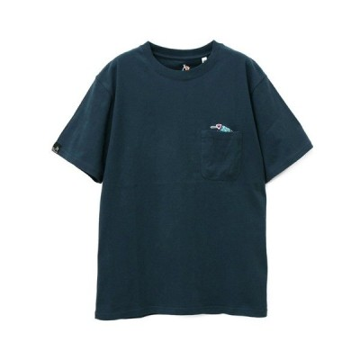 tシャツ Tシャツ USA/C 天竺 立体PKTひょっこりイロイロ刺繍 SS TEE