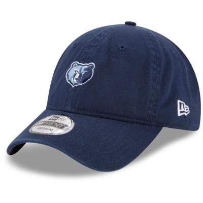 ユニセックス スポーツリーグ バスケットボール Memphis Grizzlies New Era On-Court 29TWENTY Fitted Hat - Navy 帽子