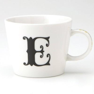 小倉陶器 アルファベット マグカップ E
