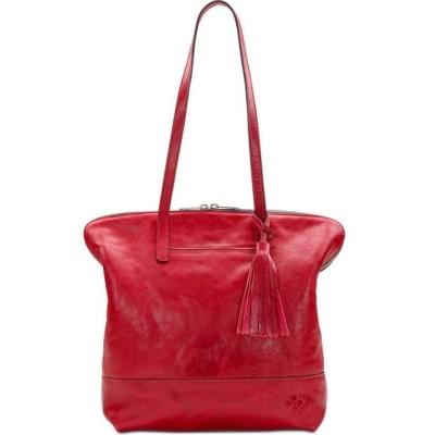 パトリシア ナッシュ Patricia Nash ユニセックス ハンドバッグ サッチェルバッグ バッグ Leather Brights Rochelle Satchel Red/Silver