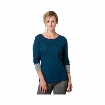 Toad&Co トードアンドコー ファッション トップス Toad&Co Womens  Profundo Long Sleeve Crew Shirt
