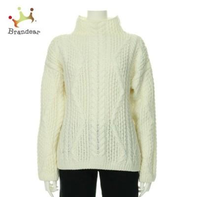 マッシモドゥッティ 長袖セーター サイズL レディース 新品同様 ホワイト系 ニット・セーター   スペシャル特価 20200806