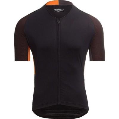 ピナレロ Pinarello メンズ 自転車 トップス Vertical Jersey Icon Black/Orange