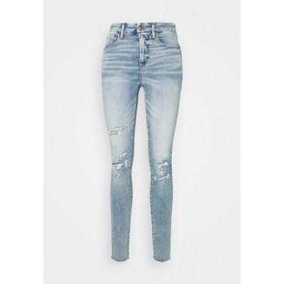 アメリカンイーグル デニムパンツ レディース ボトムス Slim fit jeans - light bright indigo