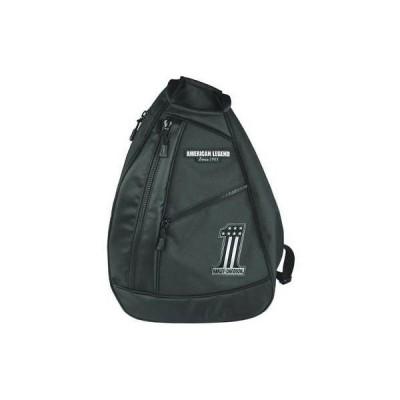 バッグ ハーレーダビッドソン Harley-Davidson Men's #1 Tonal RWB Sling Backpack - Black BP2067S-Black