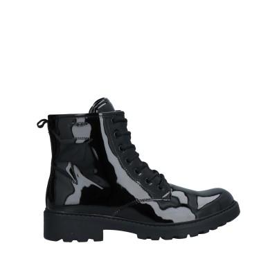 ジェオックス GEOX ショートブーツ ブラック 35 紡績繊維 ショートブーツ