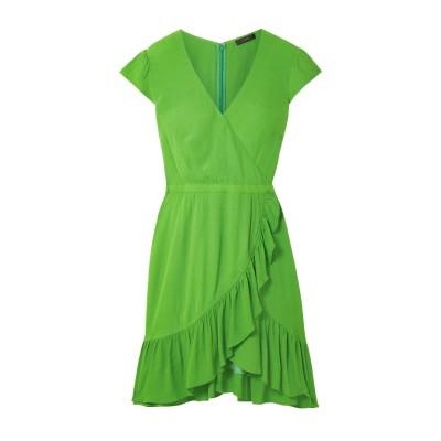 J.クルー J.CREW ミニワンピース&ドレス グリーン 2 レーヨン 100% ミニワンピース&ドレス