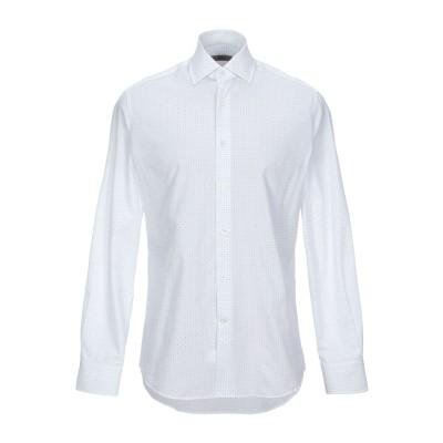 INGRAM シャツ ホワイト 39 コットン 100% シャツ