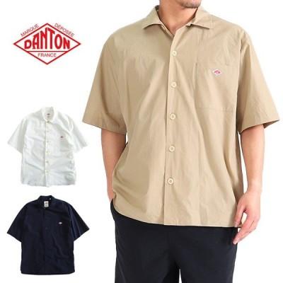 DANTON ダントン ワークシャツ ワイドシャツ JD-3609 MSA ボックス 半袖 メンズ