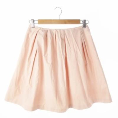 【中古】フリーズフレーズ FREE'S PHRASE スカート フレア ミニ M ピンク /AO11 ☆ レディース
