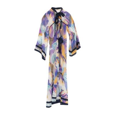 タリサ TALITHA ロングワンピース&ドレス パープル S/M シルク 100% ロングワンピース&ドレス