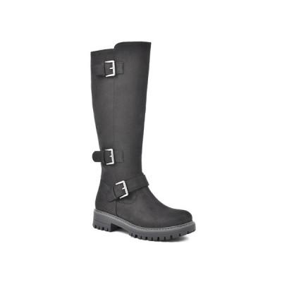 クリフバイホワイトマウンテン ブーツ&レインブーツ シューズ レディース Women's Madera Tall Boot Black
