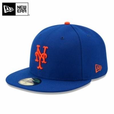 【メーカー取次】 NEW ERA ニューエラ 59FIFTY MLB On-Field ニューヨーク・メッツ ブルー 11449356 キャップ / ミリタリー メンズ レデ
