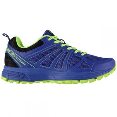 カリマー KARRIMOR メンズ ランニング・ウォーキング シューズ・靴 Caracal Trail Running Shoes BLUE/GREEN
