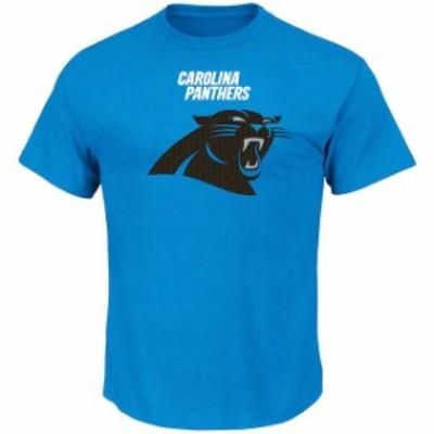 Majestic マジェスティック スポーツ用品  Majestic Carolina Panthers Blue Critical Victory T-Shirt
