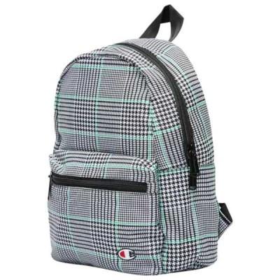 チャンピオン バックパック・リュックサック レディース バッグ Minicize Backpack Black/Green