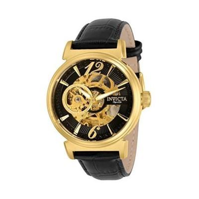 Invicta Men's 30463 Objet D Art Automatic Multifunction Black Dial Watch 並行