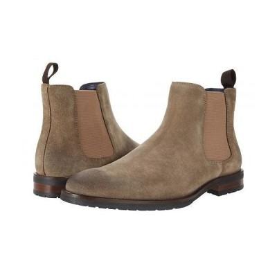 Steve Madden スティーブマデン メンズ 男性用 シューズ 靴 ブーツ チェルシーブーツ Tipler Chelsea Boot - Taupe Suede