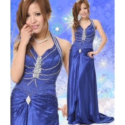 Dress Angelo ドレス キャバ ドレスキャバ ナイトドレス パーティードレス 7号サイズ  キャバドレス ビーズ & スパンコール 刺繍 トレー