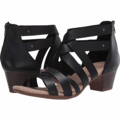 クラークス Clarks レディース サンダル・ミュール シューズ・靴 Valarie Dream Black Leather