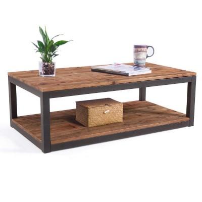 おしゃれ ビンテージコーヒーテーブル 無骨アメリカ輸入家具 アメリカ輸入雑貨
