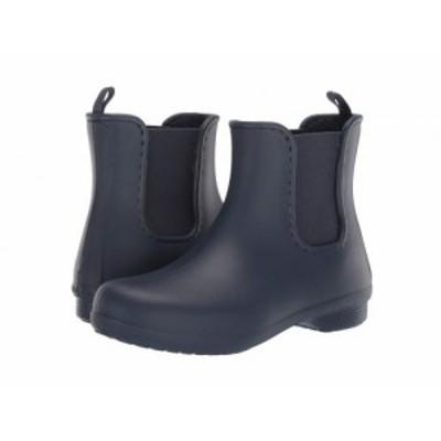 crocs クロックス レディース 女性用 シューズ 靴 ブーツ チェルシーブーツ アンクル Freesail Chelsea Boot Navy/Navy【送料無料】