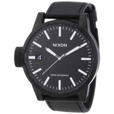 【当店1年保証】ニクソンNixon Chronicle A127 Men's All Black A127-001 Watch