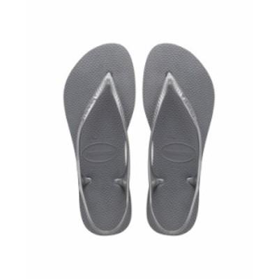 ハワイアナス レディース サンダル シューズ Women's Sunny Flip Flop Sandals Steel Gray