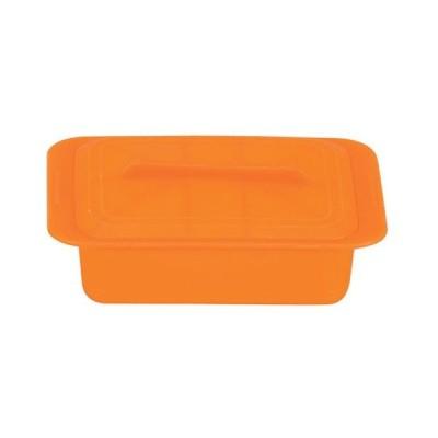 電子レンジ調理 料理道具 / シリコンスチーマー クアトロ(スチームトレイ付) 59623 キャロットオレンジ 寸法: (外寸)幅:275 x 奥行:200 x H85mm 容量:2200ml