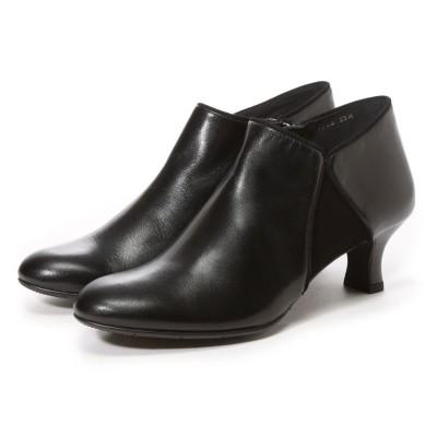 ビューフォートエレガンス BeauFort elegance EEウイズウオーキングブーティー(ブラック)