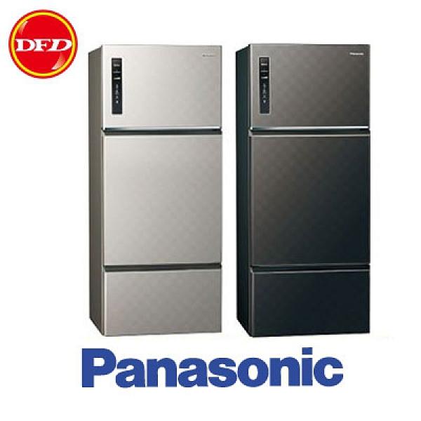 PANASONIC 國際 變頻三門冰箱 NR-C489TV 星耀黑/星耀金 481公升 公司貨