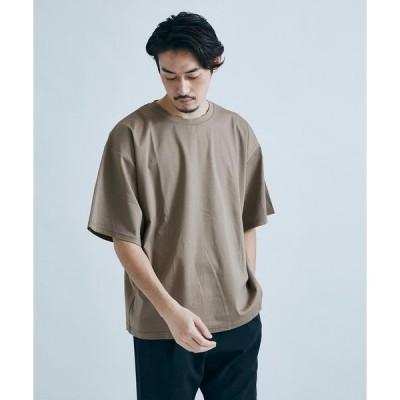 接触冷感 SCTCコットン ビッグシルエットTシャツ 21071600202010