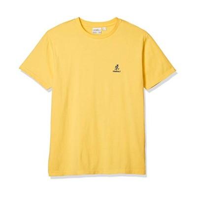 [グラミチ] Tシャツ BIG RUNNNINGMAN TEE メンズ YELLOW 日本 XL (日本サイズXL相当)
