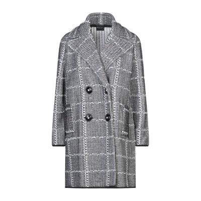 NEERA コート ブラック 44 ウール 60% / アクリル 20% / 毛(アルパカ) 20% コート