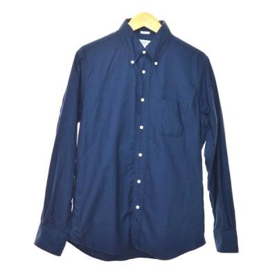 【8月6日値下】INDIVIDUALIZED SHIRTS ボタンダウンシャツ ネイビー サイズ:15 1/2-33 (南船場店)