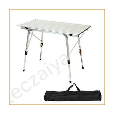 Camping expert Camping Portable Table, Folding Lightweight Table for Outdoor Picnic, Beach, Camping, Party,BBQ並行輸入品