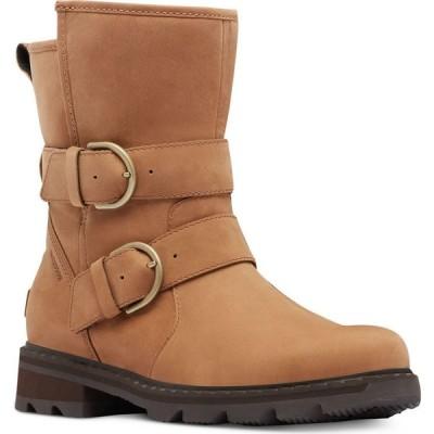 ソレル Sorel レディース ブーツ ブーティー シューズ・靴 Lennox Moto Cozy Booties Velvet Tan
