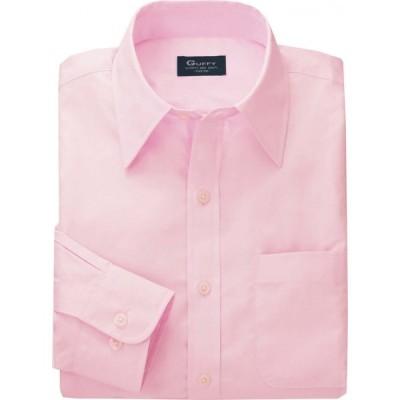 【アウトレット】長袖ブロードシャツ ピンク SS〜ELL(4L)サイズ GU-5401 アルトコーポレーション