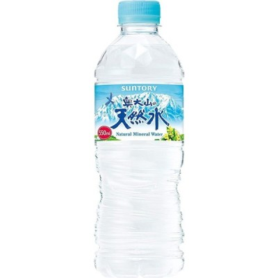 【特価】サントリー 奥大山の天然水 550ml PET 1ケース 24本入りサントリー天然水 天然水の森 奥大山