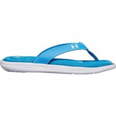 アンダーアーマー ビーチサンダル Marbella VI Thong Canoe Blue/White