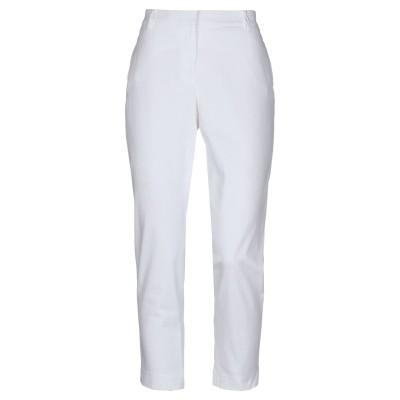 DAVIDE CENCI パンツ ホワイト 46 コットン 97% / ポリウレタン 3% パンツ