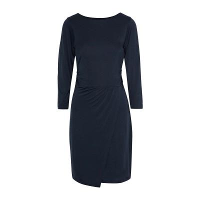 IRIS & INK ミニワンピース&ドレス ダークブルー 10 テンセル 100% ミニワンピース&ドレス